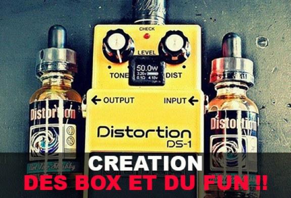 Création : Des Box et du fun !! (Partie 1)