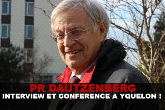 Pr Dautzenberg : Interview et Conférence a Yquelon !