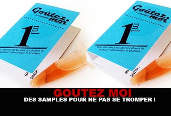 GOUTEZ MOI : Des samples pour ne pas se tromper !