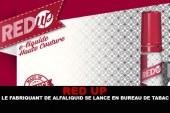 RED-UP : Le fabriquant de Alfaliquid se lance en bureau de tabac !