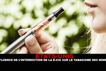 USA: l'influenza del divieto di e-cigarette sul fumo di minori.