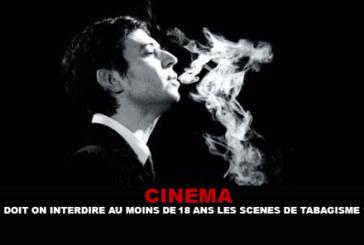 CINEMA: Dobbiamo vietare almeno 18 anni a fumare scene?