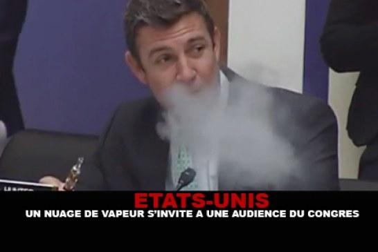 USA : Un nuage de vapeur s'invite à une audience du congrès !