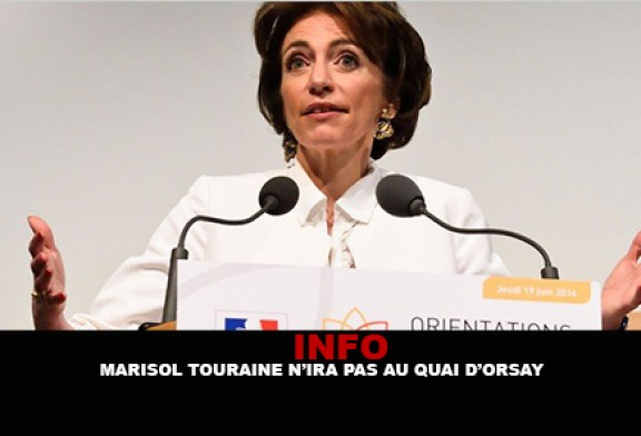 INFO : Marisol Touraine n'ira pas au quai d'Orsay…