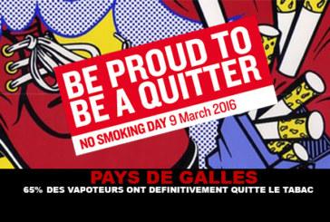 WALES: 65% der vapers haben definitiv mit dem Rauchen aufgehört.