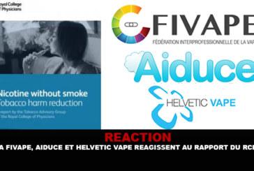 """תגובה: Fivape, Aiduce ו Helvetic Vape להגיב על הדו""""ח של SPC."""