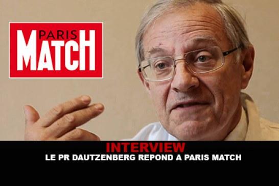 INTERVIEW : Le Pr. Dautzenberg répond à Paris Match.