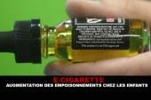 E-CIGARETTE : Augmentation des empoisonnements chez les enfants.