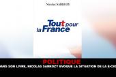 POLITIQUE : Dans son livre, Nicolas Sarkozy évoque la situation de la e-cigarette.