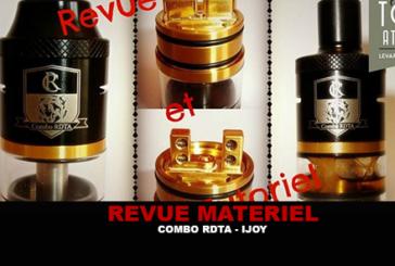 REVUE / TUTORIEL : COMBO RDTA PAR IJOY