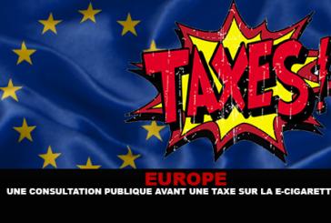אירופה: התייעצות ציבורית לפני מס על סיגריה אלקטרונית.