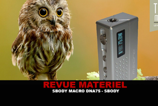 REVUE : SBODY MACRO DNA 75 PAR S-BODY
