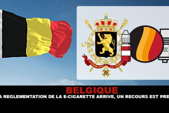 BELGIQUE : La réglementation de la e-cigarette arrive, un recours est prévu !