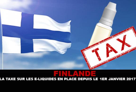 FINLANDE : La taxe sur les e-liquides en place depuis le 1er Janvier.