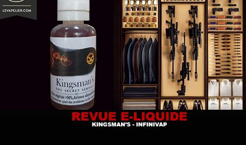 REVUE : KINGSMAN'S (GAMME CINÉ-SÉRIE) PAR INFINIVAP