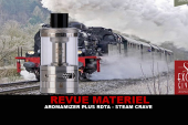 REVUE : AROMAMIZER PLUS RDTA PAR STEAM CRAVE