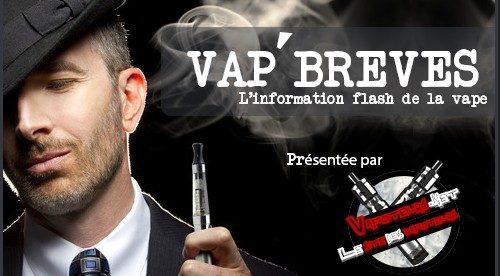 VAP'BREVES : L'actualité du Vendredi 06 Janvier 2017.