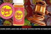 DROIT : Chupa Chups lance une action en justice contre un fabriquant de e-liquide.