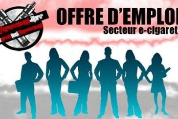 OFFRE D'EMPLOI : Vendeur/vendeuse – Smoke Machine (Chartres-28)