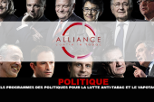 POLITIQUE : Quels programmes des politiques pour la lutte anti-tabac et le vapotage ?
