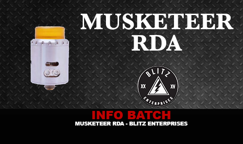INFO BATCH : Musketeer RDA (Blitz Enterprises)
