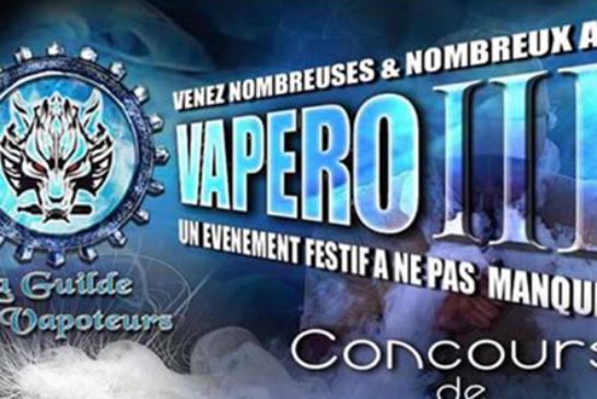 ÉVÉNEMENT : 3eme Vapéro de la Guilde Des Vapoteurs (Arras – 62)