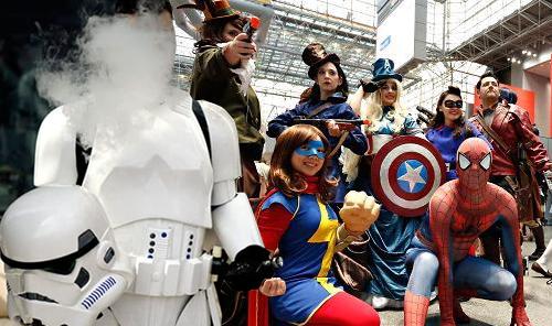 CANADA : Quand la vape s'invite au Comic Con Montréal !