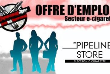 OFFRE D'EMPLOI : Vendeur en magasin – PIPELINE Store – Batignolles ou République (Paris)