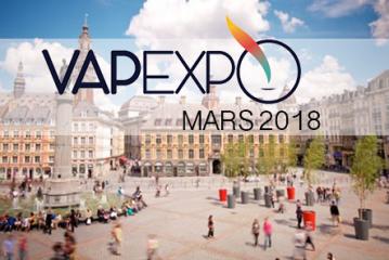 VAPEXPO : L'édition de Mars 2018 devrait avoir lieu à….