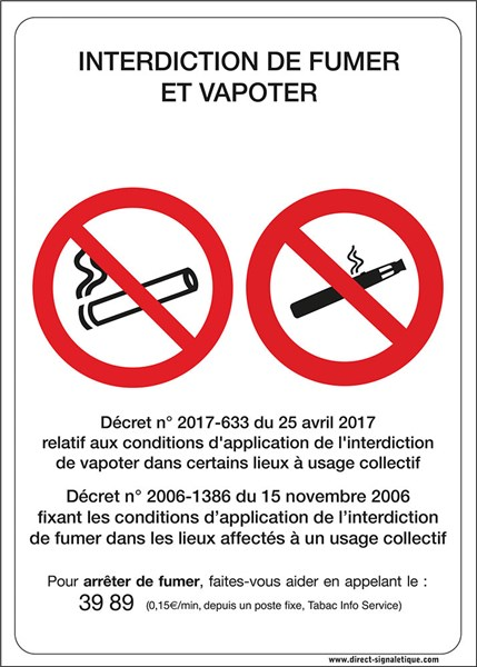 e cigarette une interdiction dans certains lieux publics d s le 1er octobre. Black Bedroom Furniture Sets. Home Design Ideas