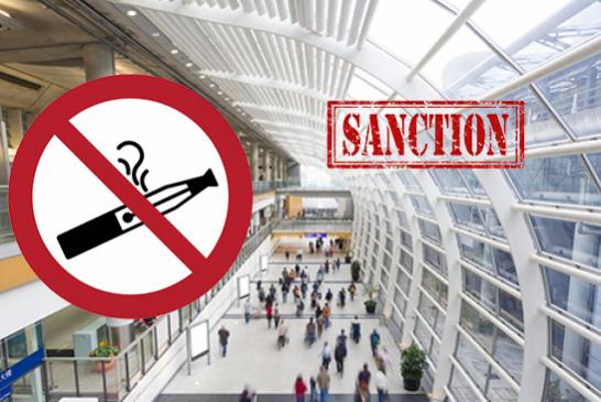 E-CIGARETTE : Une interdiction dans certains lieux publics dés le 1er Octobre.