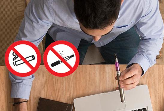 Fumer dans certains lieux publics est désormais interdit — Cigarette électronique