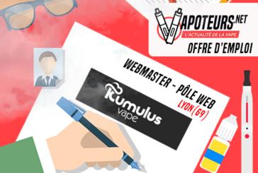 OFFERTA DI LAVORO: Webmaster Web Pole - Kumulus Vape - Lione (69)