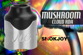 INFO BATCH : Mushroom Cloud RDA (Smokjoy)