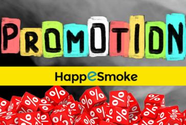 BON PLAN : Des codes promos et réductions pour Happesmoke