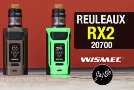 INFO BATCH : Reuleaux RX2 20700 (Wismec)