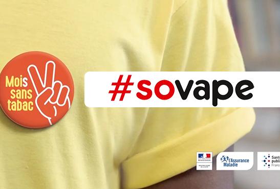 SOVAPE : Encourager les fumeurs à relever le défi «Mois sans tabac»
