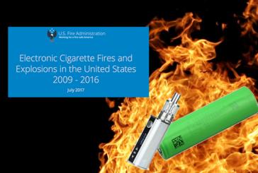 ETATS-UNIS : La FEMA met à jour son rapport sur les explosions d'e-cigarettes.