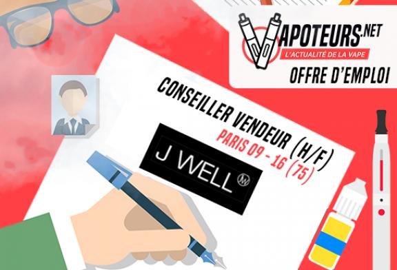 OFFERTA DI LAVORO: Consulente di vendita (M / F) - JWELL - Paris 09 / Paris 16
