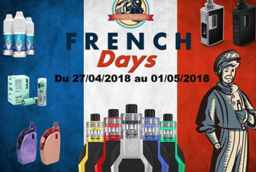 "GOOD PLAN: Tech-Steam launches the ""French Days"" with 15% discount on the whole site!"