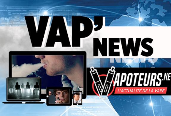 VAP'NEWS: The e-cigarette news for Monday 28 October 2019