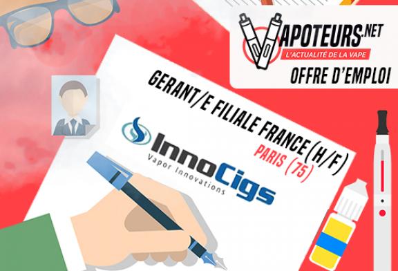 OFFERTA DI LAVORO: Managing Partner France (H / F) - Innocigs - Paris (75)
