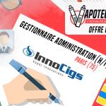 הצעת עבודה: מנהל מכירות (M / F) - Innocigs - פריז (75)