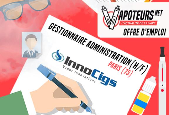 OFFERTA DI LAVORO: Sales Administration Manager (M / F) - Innocigs - Paris (75)