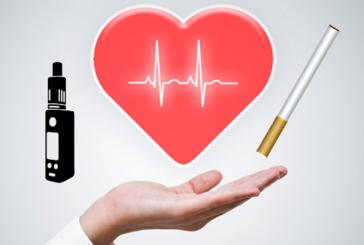 STUDY: כמו סיכונים קרדיווסקולריים רבים עם סיגריה אלקטרוני כמו עם עישון.