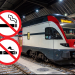 SWITZERLAND: A ban on tobacco and e-cigarettes in 2019 stations.