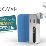 "E-CIGARETTE: ההתחלה Enovap מקבל גביע ""PEPITES של PEPITE 2019"" ב VivaTech!"