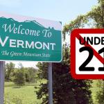 STATI UNITI: Vermont diventa lo stato 14th per passare l'età legale agli 21 anni per l'acquisto di e-sigarette!