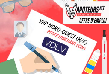 OFFERTA DI LAVORO: VRP Nord-Ouest (H / F) - VDLV - Travelling Post