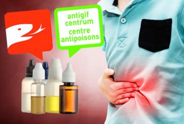 בלגיה: מרכז Antipoisons מזהיר מפני הסכנה הפוטנציאלית של שיכרון עם e- נוזלים!
